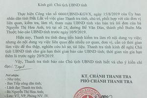 Thanh tra tỉnh Đắk Lắk gia hạn thời gian trả lời đơn thư của cô giáo Hoa Anh