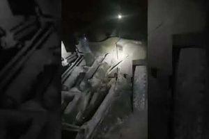 Quân đội Syria phát hiện kho vũ khí của phiến quân giấu trong đường hầm