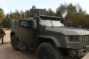 Nga chế tạo xe bọc thép bảo vệ vũ khí hạt nhân