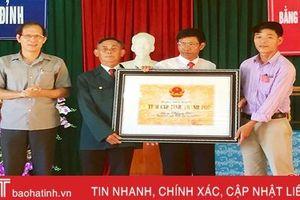 Đón nhận bằng xếp hạng di tích lịch sử - văn hóa Nhà thờ Nguyễn Nê