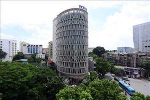 'Khám phá' tòa nhà có kiến trúc độc đáo của Trung tâm Truyền hình Thông tấn