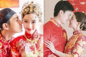 Lễ đăng ký kết hôn của 'Thần tiên tỷ tỷ' Văn Vịnh San với đại gia: Lấn lướt hôn lễ của 'tỷ muội cạch mặt' Angela Baby