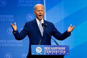 Một nhóm ứng viên 'tách tốp', ông Joe Biden tạm dẫn đầu