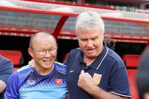 U22 Việt Nam và U22 Trung Quốc: HLV Park có thắng Guus Hiddink?