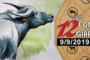 Xem tử vi thứ 2 ngày 9/9/2019 của 12 con giáp: Tuổi Tuất thuận lợi đủ đường, Sửu nên nhẫn nhịn chờ thời