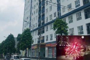 Cư dân khu đô thị Thanh Hà hoảng hồn vì hàng chục phát pháo hoa nổ trong đêm