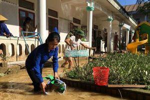 Hà Tĩnh: Tập trung làm sạch môi trường, kiểm soát dịch bệnh tại những nơi lũ đã rút
