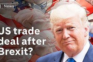 Thỏa thuận thương mại Mỹ-Anh sẽ không dễ dàng do diễn biến mới của Brexit