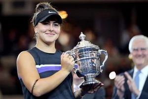 Andreescu lần đầu vô địch US Open