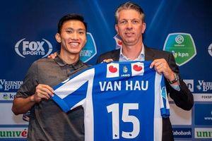 Hà Nội FC tiết lộ mức lương 'khủng' Văn Hậu nhận được từ SC Heerenveen