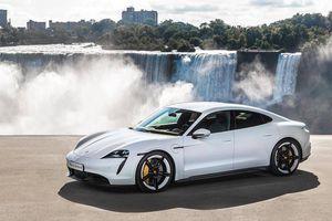 Xe thể thao chạy điện Porsche Taycan chốt giá từ 153.000 USD