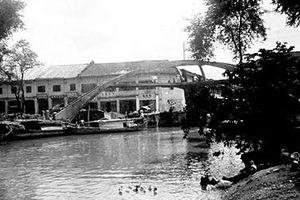 Đổi thay bên con kênh Hàng Bàng
