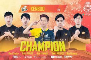 PUBG Mobile: RRQ Athena cùng streamer Ken Boo bảo vệ thành công chức vô địch PUBG Mobile Star Challenge 2019