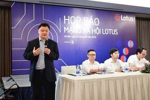 CEO VCCorp: Lotus không đi vào thị trường ngách, 'đánh trúng' nhu cầu mạng xã hội khác chưa đáp ứng tốt