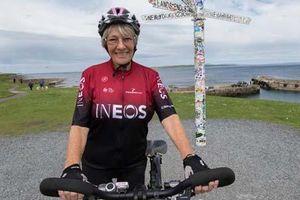 Cụ bà 81 đạp xe hơn 1.500 km