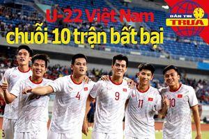 Thầy Park lập kỷ lục cùng U-22 Việt Nam