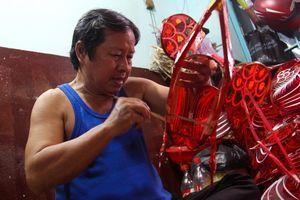 Làng lồng đèn Phú Bình ở Sài Gòn đìu hiu trước dịp Trung thu