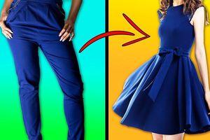 Đây chính là cách biến quần áo định vứt đi thành đồ mới