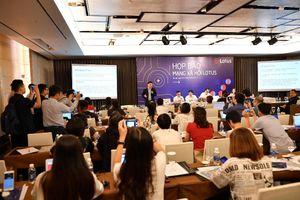 Giới thiệu mạng xã hội Lotus 'Made in Việt Nam' trước ngày chính thức ra mắt