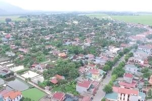 Cử tri ủng hộ thành lập thị trấn Nưa thuộc huyện Triệu Sơn, Thanh Hóa