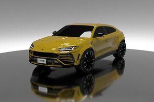 DMC nhá hàng bản độ thân rộng siêu SUV Lamborghini Urus