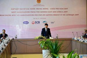 Khai mạc Hội nghị Gặp mặt Đại sứ các nước Trung Đông - châu Phi năm 2019