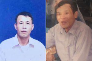 Thông báo nhận diện tìm kiếm 2 nạn nhân bị mất tích trên biển