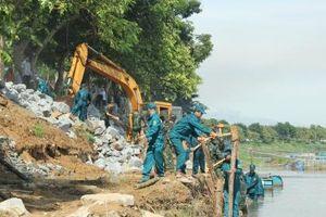 Thừa Thiên Huế diễn tập phồng chống bão lụt