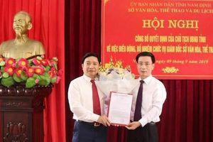 Nam Định có tân Giám đốc Sở Văn hóa- Thể thao và Du lịch