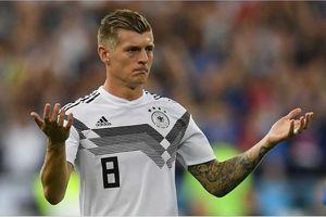 Ngôi sao Toni Kroos bất ngờ tính chuyện chia tay tuyển Đức