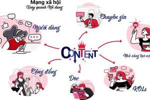 Mạng xã hội Lotus Việt Nam 'hút' người dùng vì 'Nội dung là Vua'!