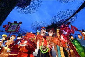 Tết Trung thu đầy màu sắc mừng 200 năm khai phá đất nước Singapore