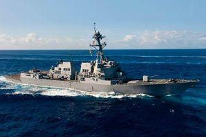 Chi tiết nhiệm vụ của tàu khu trục USS Wayne E. Meyer ở Biển Đông