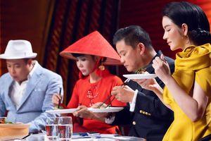 Lý Nhã Kỳ nhịn ăn đẹp lộng lẫy làm giám khảo Top Chef