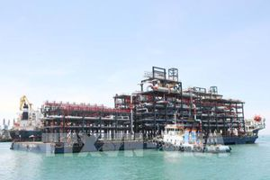 Doosan Vina xuất khẩu 12 module khổng lồ đến UAE