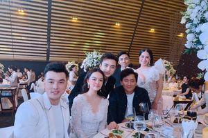 Vợ chồng Khánh Thi sóng đôi sang chảnh dự hôn lễ 'ái nữ' đại gia Minh Nhựa