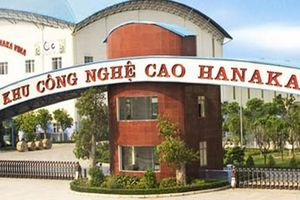 Tập đoàn Hanaka được chuyển hơn 37ha đất công nghiệp sang đất đô thị