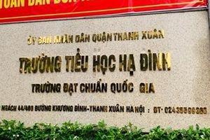 Phụ huynh trường Tiểu học Hạ Đình cho con nghỉ học sau vụ cháy