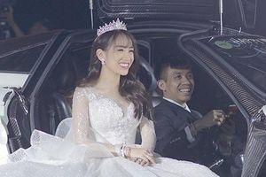 Đại gia Minh Nhựa lái siêu xe 80 tỷ đồng đưa con gái lên lễ đường