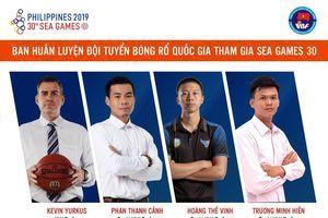 Liên đoàn Bóng rổ Việt Nam công bố thành phần ban huấn luyện đội tuyển quốc gia tham dự SEA Games 30
