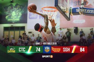 Thiếu người vì foul-trouble, Saigon Heat vượt qua màn tỏa sáng của Đinh Thanh Sang để giành chiến thắng trước Cantho Catfish