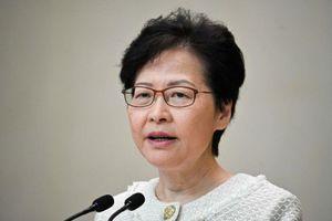 Carrie Lam: Bạo lực không giúp giải quyết vấn đề của Hong Kong