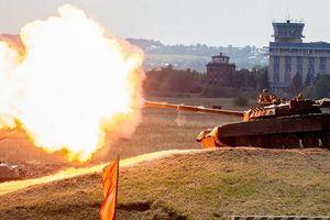 Nga triển khai 10 'xe tăng bay' T-80 cho hạm đội Thái Bình Dương