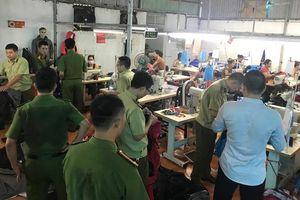 Triệt phá nơi sản xuất hàng nhái thương hiệu nổi tiếng