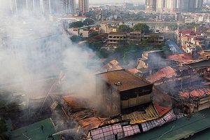 Hà Nội vẫn chưa thể cung cấp thông tin mới liên quan vụ cháy nhà máy Rạng Đông