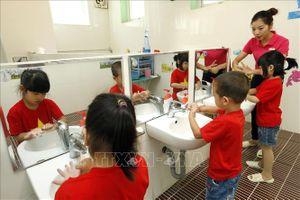 Hà Nội chủ động phòng chống bệnh tay chân miệng cho học sinh