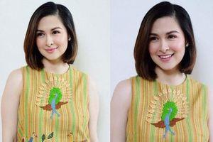 Ngỡ ngàng trước hình ảnh 'Mỹ nhân đẹp nhất Philippines' để tóc ngắn, diện mạo khác lạ gây tranh cãi