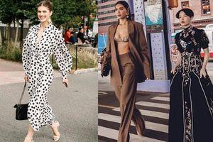 Bất ngờ khi Minh Tú cùng hội thích mặc đẹp khuấy đảo street style tại Tuần lễ thời trang New York