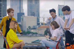 Sau nụ hôn ngọt ngào với Toof. P (Uni5), MisThy cùng Linh Ngọc Đàm 'phá đảo' MV của Youtuber Di Di