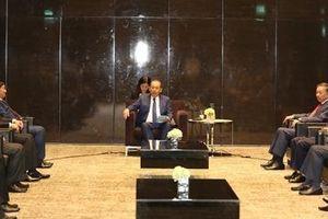 Phó Thủ tướng Thường trực Trương Hòa Bình tiếp trưởng đoàn các nước dự Hội nghị cấp Bộ trưởng về ma túy